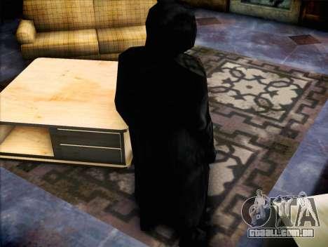 Maníaco do filme Scream para GTA San Andreas terceira tela