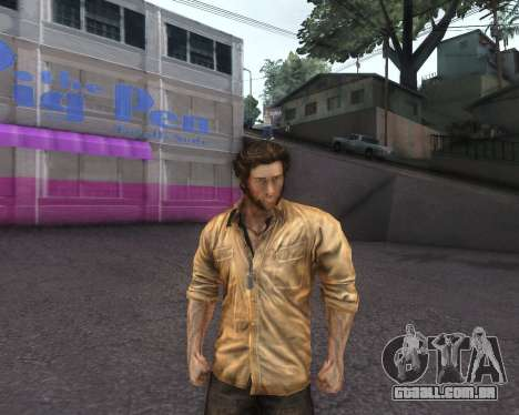 X-men Origins: Wolverine [Skins Pack] para GTA San Andreas terceira tela