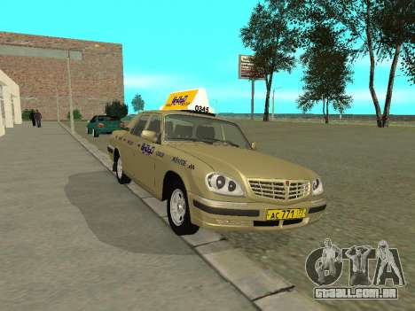 Táxi de 31105 Volga GAZ para GTA San Andreas