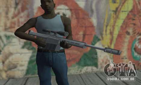 Rifle sniper do Saints Row 2 para GTA San Andreas terceira tela