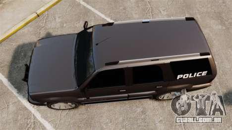 Cavalcade Police para GTA 4 vista direita