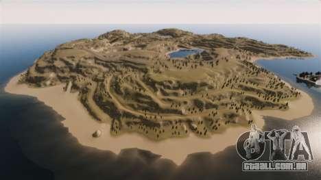 Cliffside localização Rally para GTA 4
