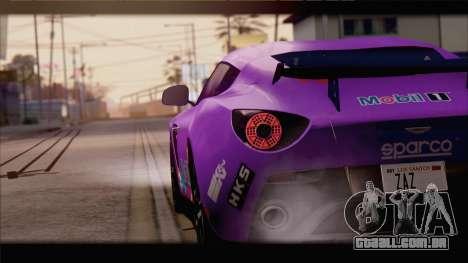 Aston Martin V12 Zagato 2012 [IVF] para o motor de GTA San Andreas