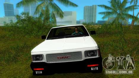 GMC Cyclone 1992 para GTA Vice City vista direita