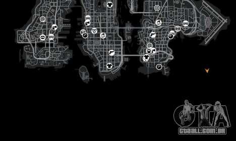 Localização do deserto Highway para GTA 4 sexto tela