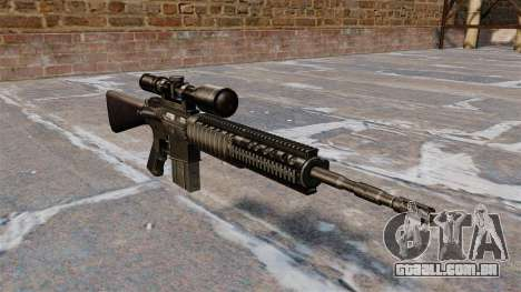 Rifle sniper Armalite AR-10 para GTA 4