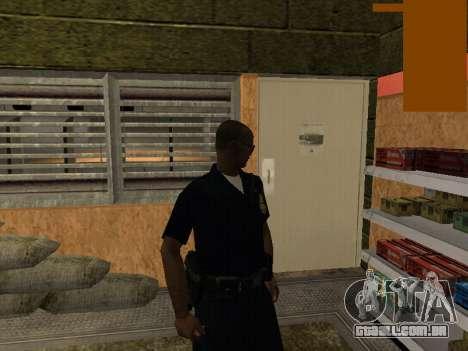 New lapd1 para GTA San Andreas segunda tela