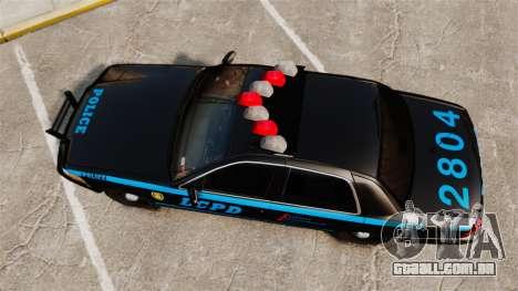 Ford Crown Victoria 1999 LCPD para GTA 4 vista direita