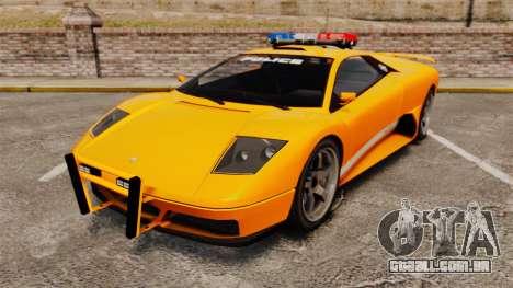 Infernus Police para GTA 4