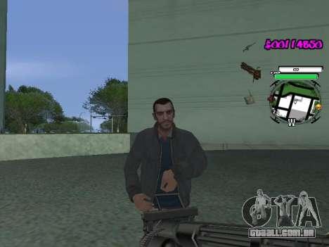 HUD para GTA San Andreas segunda tela