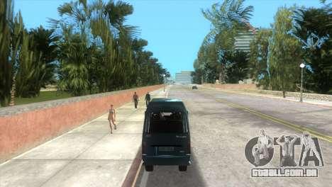 Kia Towner para GTA Vice City vista direita