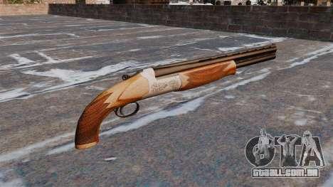 Espingarda de cano duplo para GTA 4 segundo screenshot