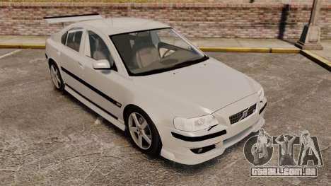 Volvo S60R para GTA 4 vista lateral