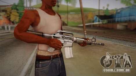 M4 de Max Payne para GTA San Andreas