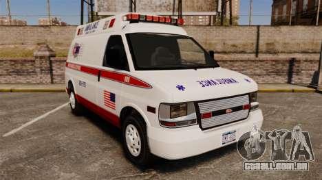 Vapid Speedo AMR [ELS] para GTA 4
