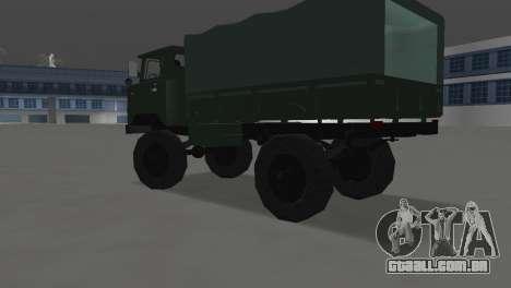 GAZ 66 para GTA Vice City deixou vista