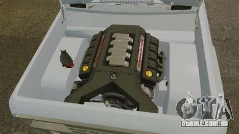 Ford Bronco Concept 2004 para GTA 4 vista interior