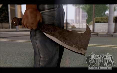 Facão para GTA San Andreas terceira tela