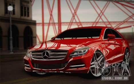 Mercedes-Benz CLS 63 AMG 2012 Fixed para vista lateral GTA San Andreas