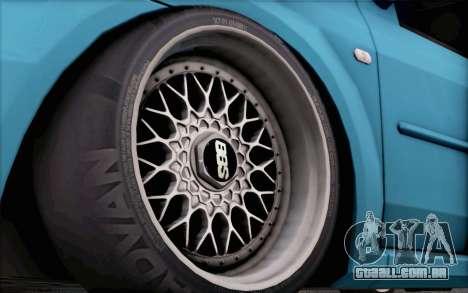 Dacia Logan para GTA San Andreas vista direita