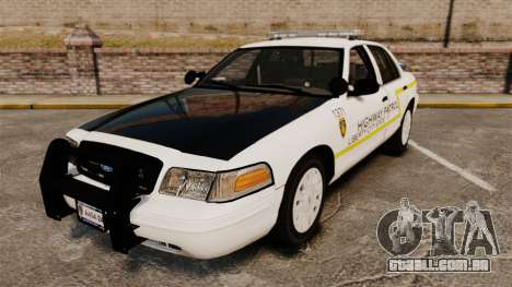 Ford Crown Victoria 2011 LCSHP [ELS] para GTA 4