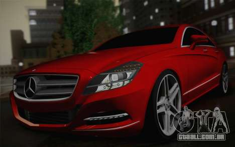 Mercedes-Benz CLS 63 AMG 2012 Fixed para GTA San Andreas vista direita