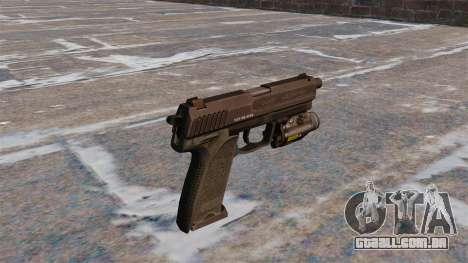 Pistola HK USP 45 MW3 para GTA 4 segundo screenshot