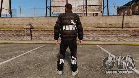 Puma vestuário para GTA 4 segundo screenshot