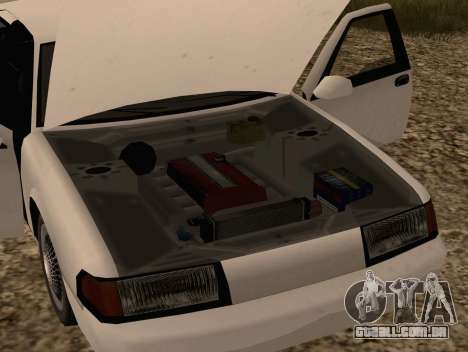 Fortune Sedan para GTA San Andreas vista direita