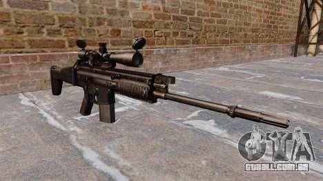 Espingarda automática FN SCAR-H para GTA 4