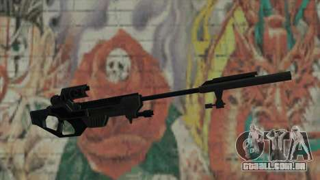 Rifle sniper de Timeshift para GTA San Andreas