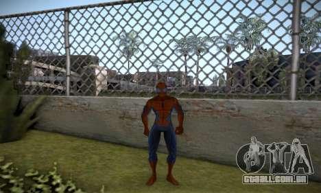 Spider man EOT Full Skins Pack para GTA San Andreas terceira tela