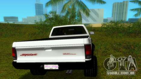 GMC Cyclone 1992 para GTA Vice City vista interior
