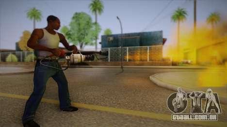Lança-chamas de Team Fortress para GTA San Andreas terceira tela