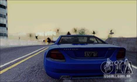 Feltzer de GTA IV para GTA San Andreas traseira esquerda vista