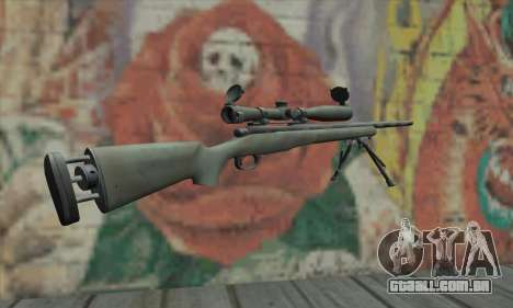 M24 para GTA San Andreas segunda tela