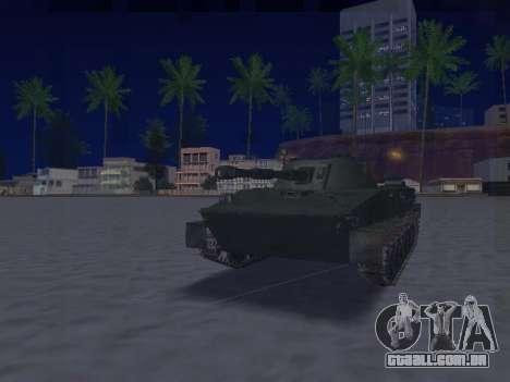 PT-76 para GTA San Andreas esquerda vista