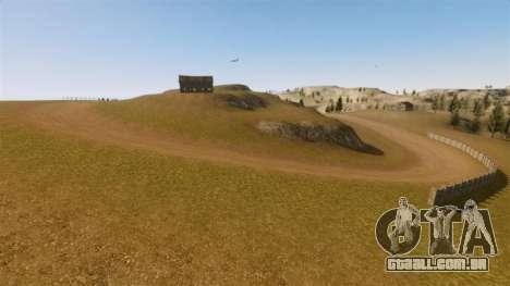Cliffside localização Rally para GTA 4 sétima tela