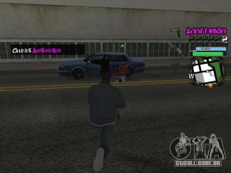 HUD para GTA San Andreas nono tela