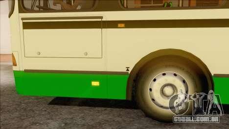 LIAZ 5256.57 para GTA San Andreas traseira esquerda vista