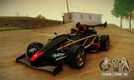 Ariel Atom 500 2012 V8 para GTA San Andreas
