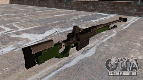 Rifle de sniper AW50F para GTA 4 segundo screenshot