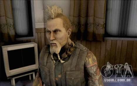 Mathias Nilsson de mercenários 2 para GTA San Andreas terceira tela