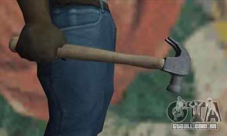 Martelo de GTA V para GTA San Andreas terceira tela