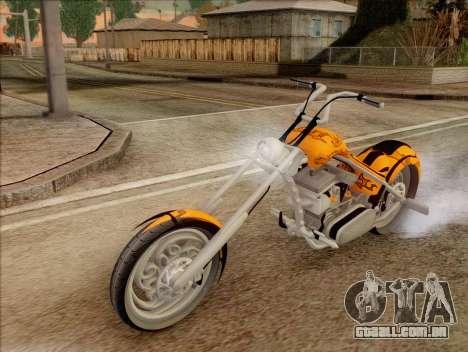 Sons Of Anarchy Chopper Motorcycle para GTA San Andreas