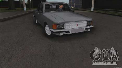 GAZ Volga de 3102 para GTA San Andreas vista superior