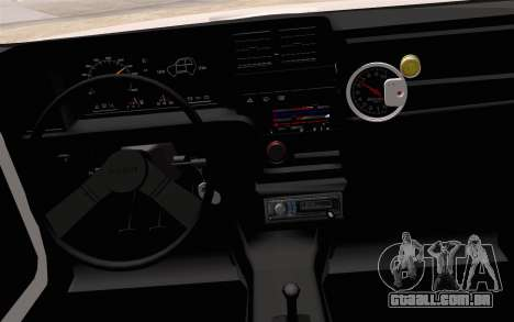 Fiat 147 Spazio-TR para GTA San Andreas vista direita