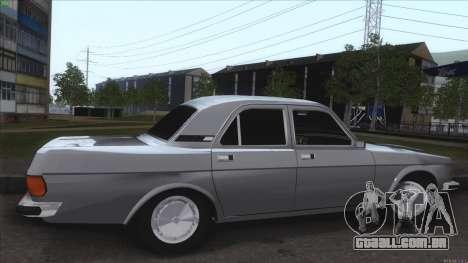 GAZ Volga de 3102 para GTA San Andreas vista interior