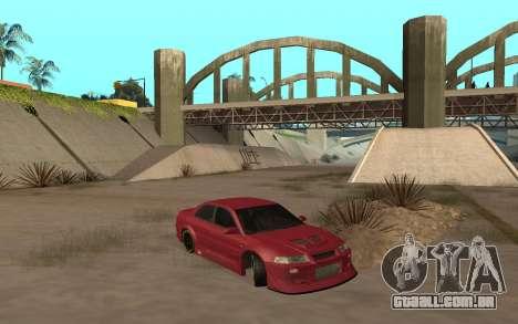 Mitsubishi Lancer Evolution VI para GTA San Andreas