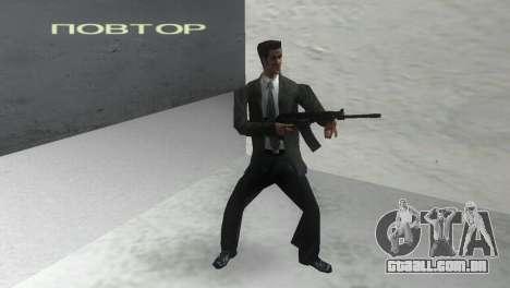 Canhão espingarda Saiga 12 k para GTA Vice City segunda tela
